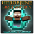Herobrine Craft and Run Icon