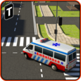 Ambulance Rescue Simulator 3D Icon