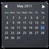 Month Calendar Widget Icon