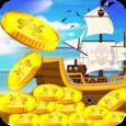 Pirate Coin Dozer Icon