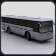 Bus Parking 3D Icon