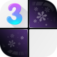 Classic Black Piano Tiles 3 Icon