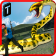 Angry Anaconda Attack 3D Icon
