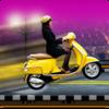Girls Scooty Race Icon