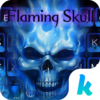 Flaming Skull Kika Keyboard Icon