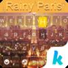 Rainy Paris Keyboard Theme Icon