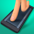 Fingers running track Icon