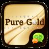 (FREE) GO SMS PURE GOLD THEME Icon