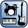 Band Game: Piano, Guitar, Drum Icon