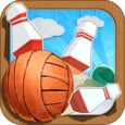 Paper Bowling Icon