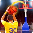 Shoot Baskets Basketball Icon