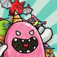 Monster VS Zombie Icon