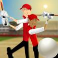 Stick Cricket Partnerships Icon