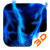 3D Lightning Tech Theme Icon