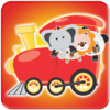 Animal Train for Kids to learn Icon