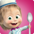 Masha Cooking dash and dinner Icon