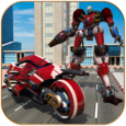 Moto Robot Transformation Icon