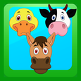 Match 3 Farm Animals Icon