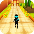 Temple ninja run 3D Icon