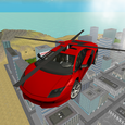 San Andreas Helicopter Car 3D Icon