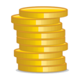 Gold Investment Icon
