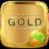 (FREE) GO SMS GOLD THEME Icon