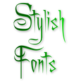 Stylish Fonts Icon