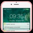 LockScreen Phone7-Notification Icon