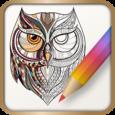 Colorfit Coloring book Icon