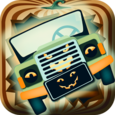 Halloween Car Garage Fun Icon