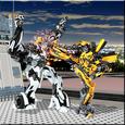 Robots War 3d Icon