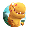 Dino Bash - Dinos v Cavemen Icon