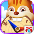 Kid's Time Learning Education Icon