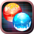 Fireball Snowball Dual Race 3D Icon