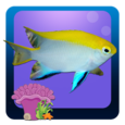 Freshwater Fish Counting Game Icon