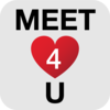 Meet4U - Chat, Love, Flirt! Icon