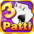 Teen Patti Gold Flush Poker Icon