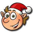 Christmas Games With Elves Icon