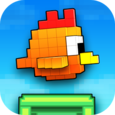 Flying Bird 3D - tap to flap Icon