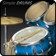 Simple Drums - Basic Icon