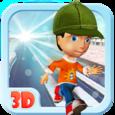 3D Ice Run Icon