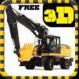 Excavator Construction Driving Icon