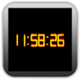 Particle Fire Clock Icon