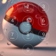 Lock screen for Pokeball Icon