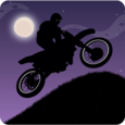 Dark Moto Race Bike Challenge Icon