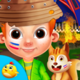 Summer Camp For Kids Icon