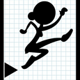 StickWoman Doodle Thief Fall Icon