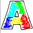 Finger Painting - ABC Icon
