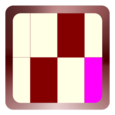 Maroon Ivory Rectangle Bout Icon