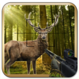 Deer Hunting in Jungle Icon